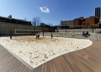 Georgia State University | Outdoor Sand Volleyball Courts