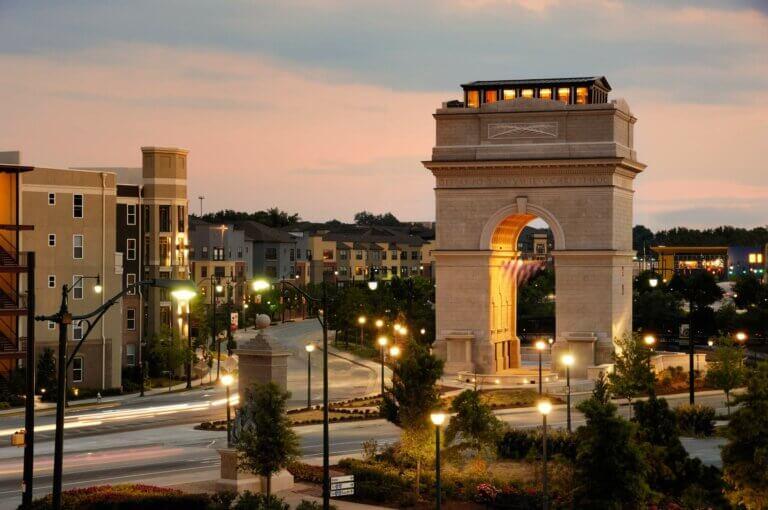 Millennium Gate Monument