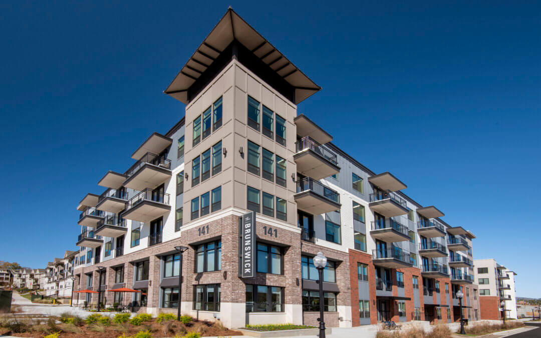 The Brunswick – A Multifamily Public-Private Project Developed in Partnership with the City of Norcross is Now Open and 40% Leased