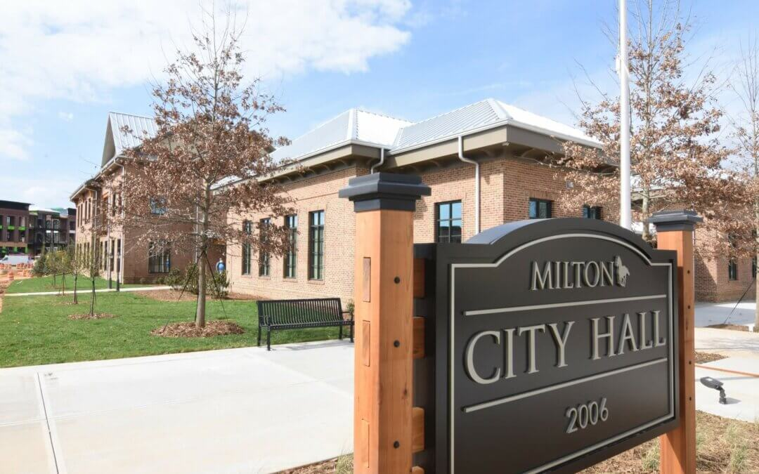 New South Construction Celebrates Completion of Two Municipal Buildings