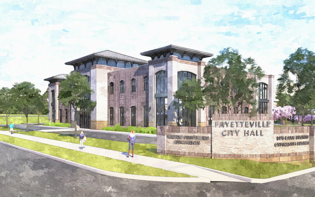 Fayetteville Unveils Designs For New City Hall, Park Space