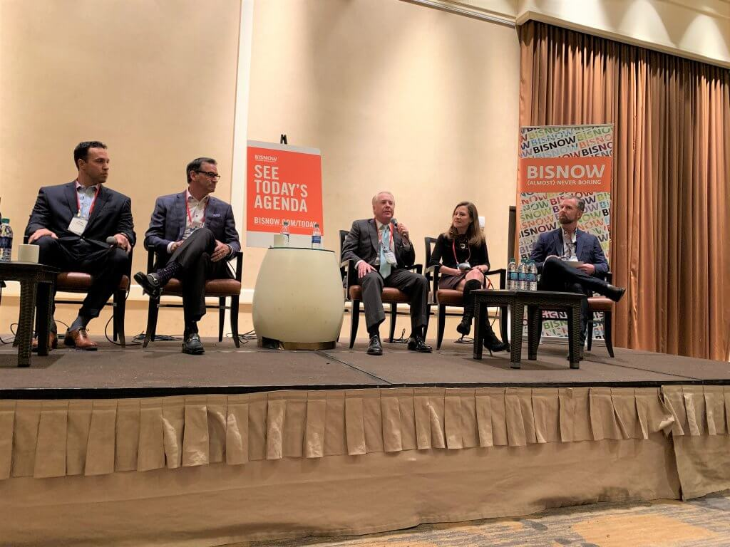 Doug Davidson on Bisnow's Construction and Development Panel
