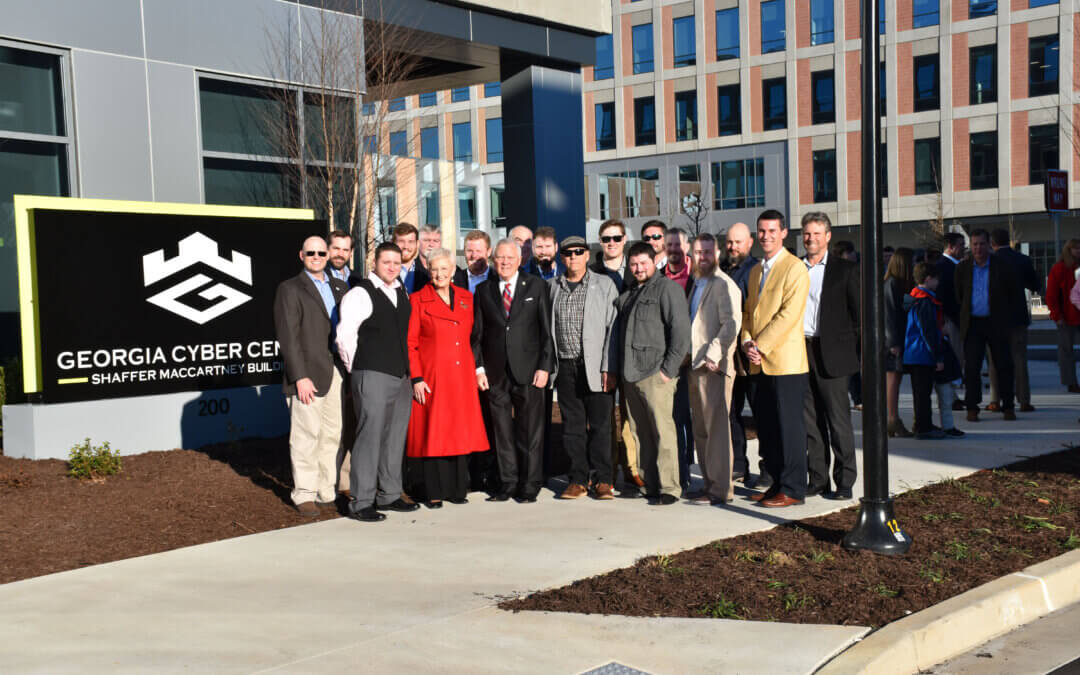 Cyber Center Building Two Ribbon Cutting