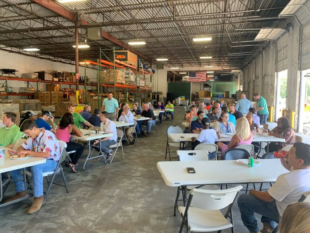 New South's Annual Fish Fry at the Warehouse