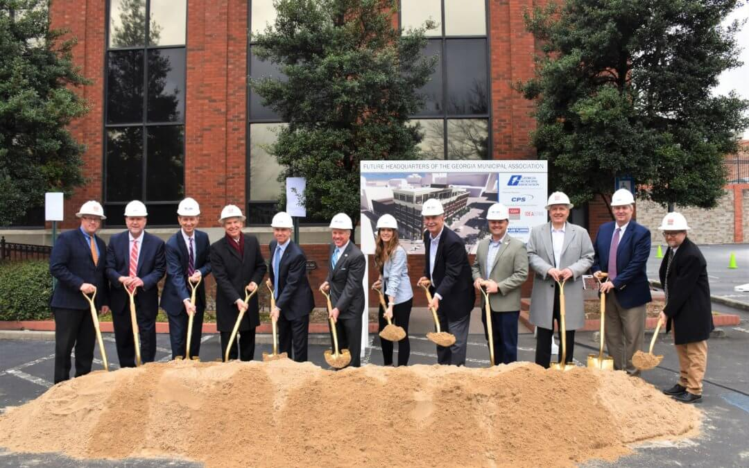 New South Breaks Ground on Georgia Municipal Association's Headquarters