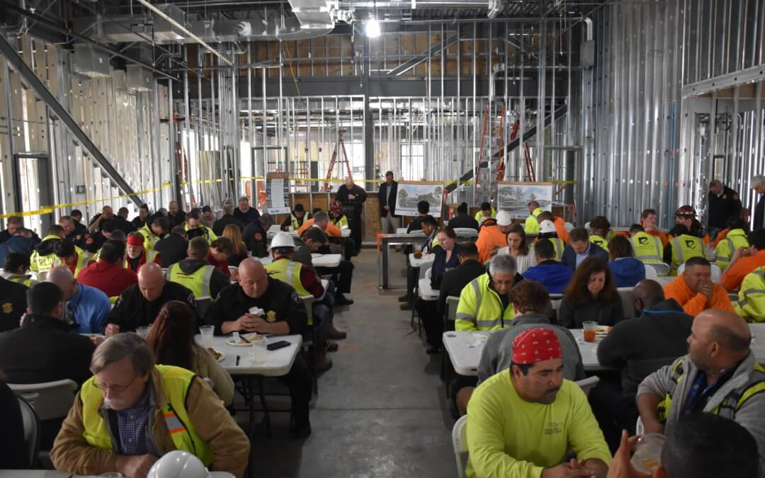 Topping Out: Milton Public Safety Complex