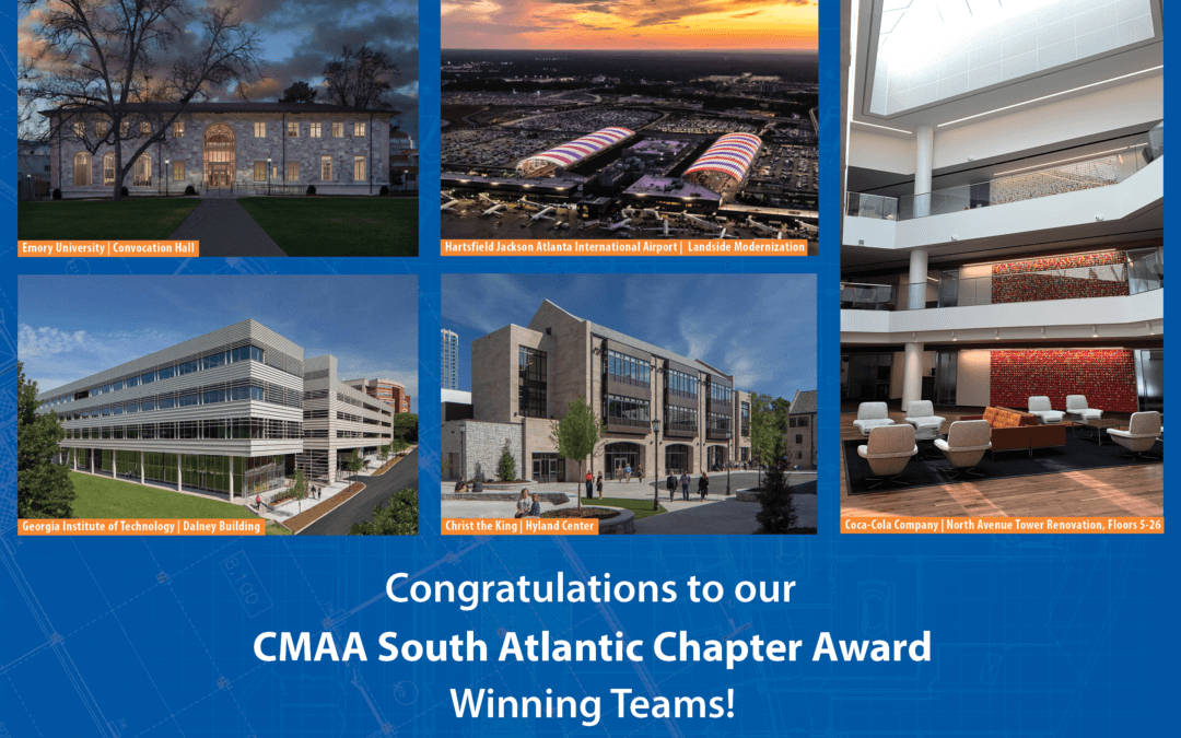 New South Construction Receives Multiple CMAA South Atlantic Chapter Project Achievement Awards