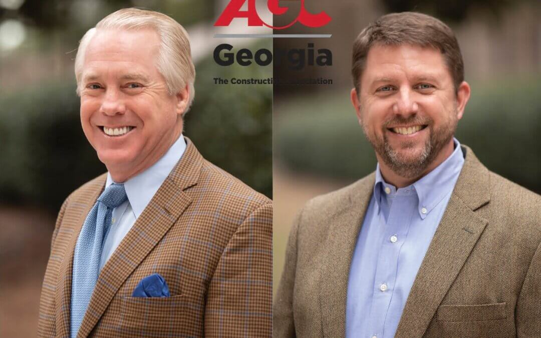 Doug Davidson and Rob Dunn Continue to Serve on the 2021-2022 AGC Board of Directors