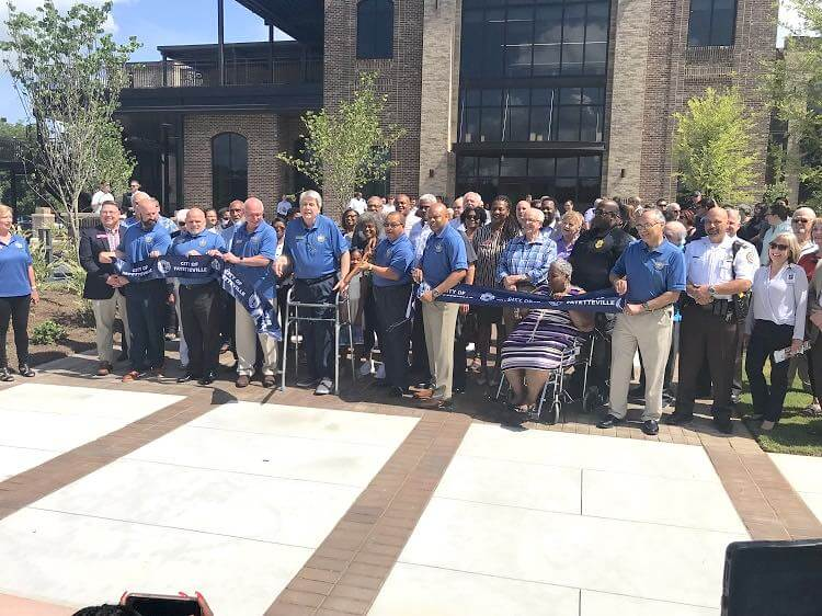 Fayetteville Celebrates Grand Opening of its New City Hall